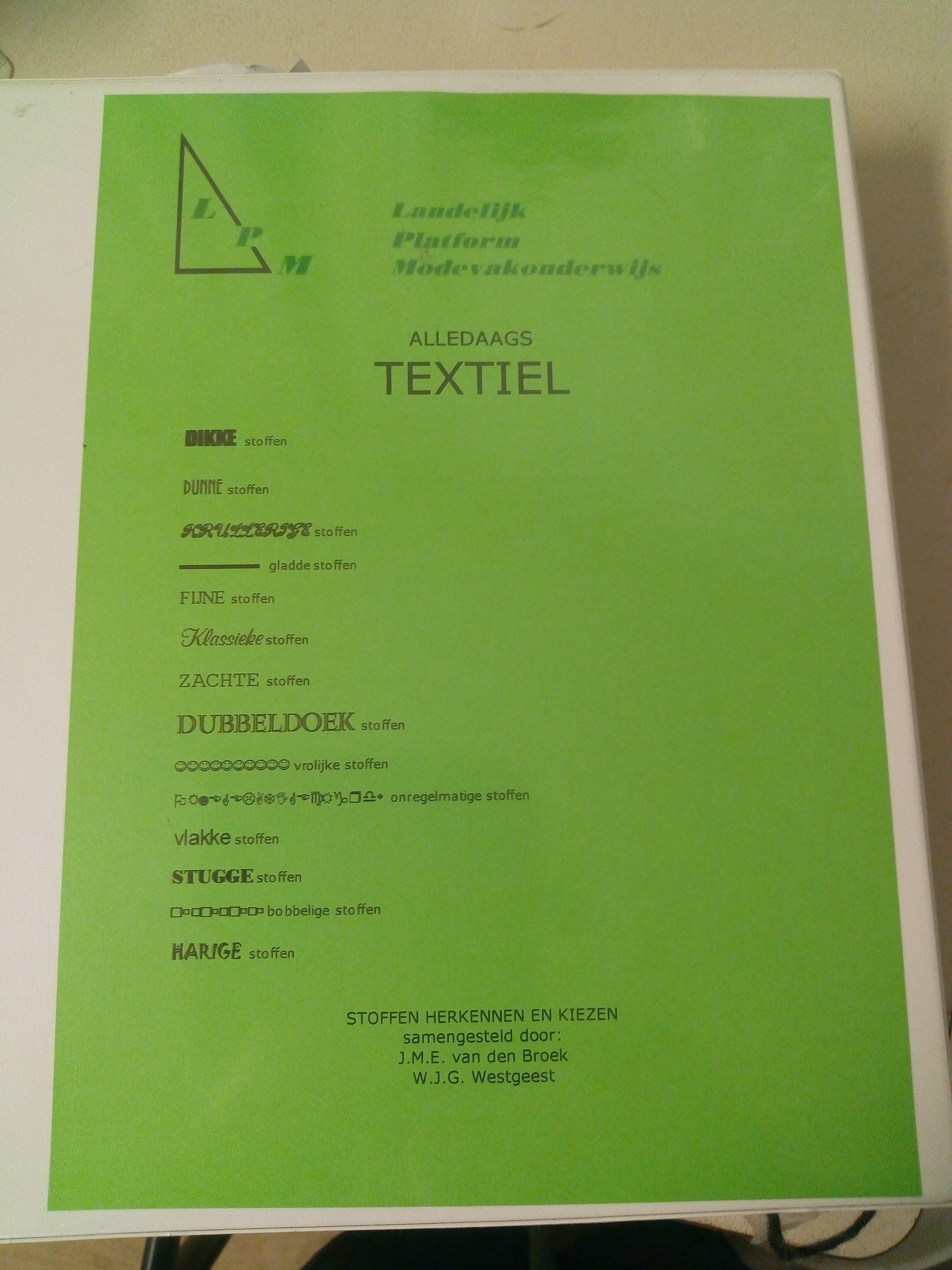 Textielwarenkennis